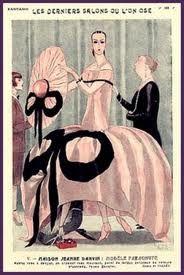 Jeanne #Lanvin in a 1920s advertising