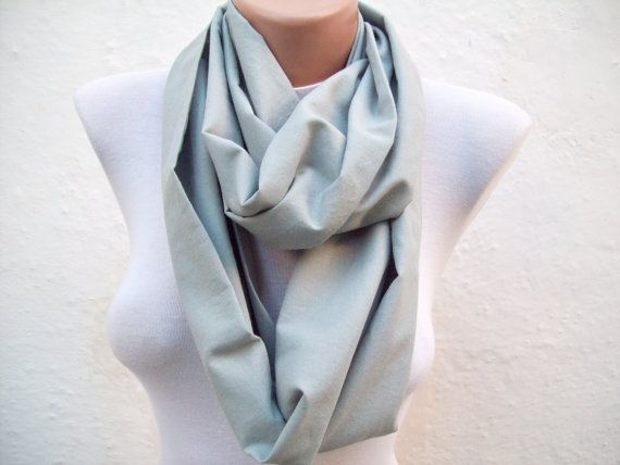 infinity scarf Loop scarf Neckwarmer Necklace scarf by scarfnurlu