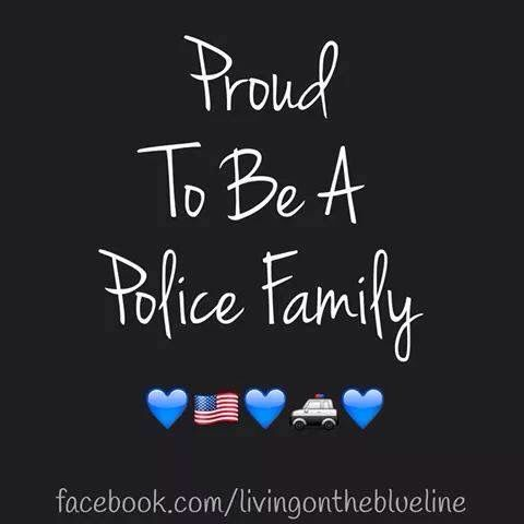 For anyone who don't know! Police save lives everyday! Leow strong!
