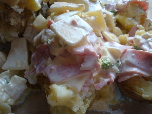 pomme de terre farcies au chavignol  cookeo usb
