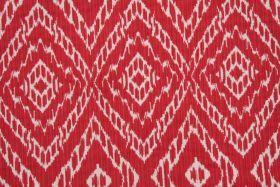 Robert Allen :: Robert Allen Strie Ikat Upholstery Fabric in Poppy $20.95 per yard - Fabric Guru.com: Fabric, Discount Fabric, Upholstery Fabric, Drapery Fabric, Fabric Remnants, wholesale fabric, fabrics, fabricguru, fabricguru.com, Waverly, P. Kaufmann, Schumacher, Robert Allen, Bloomcraft, Laura Ashley, Kravet, Greeff