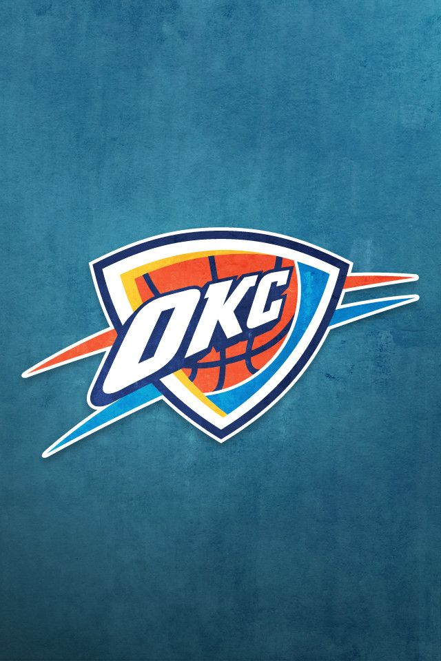 Oklahoma City Thunder | NBA IPHONE WALLPAPER | Pinterest ...