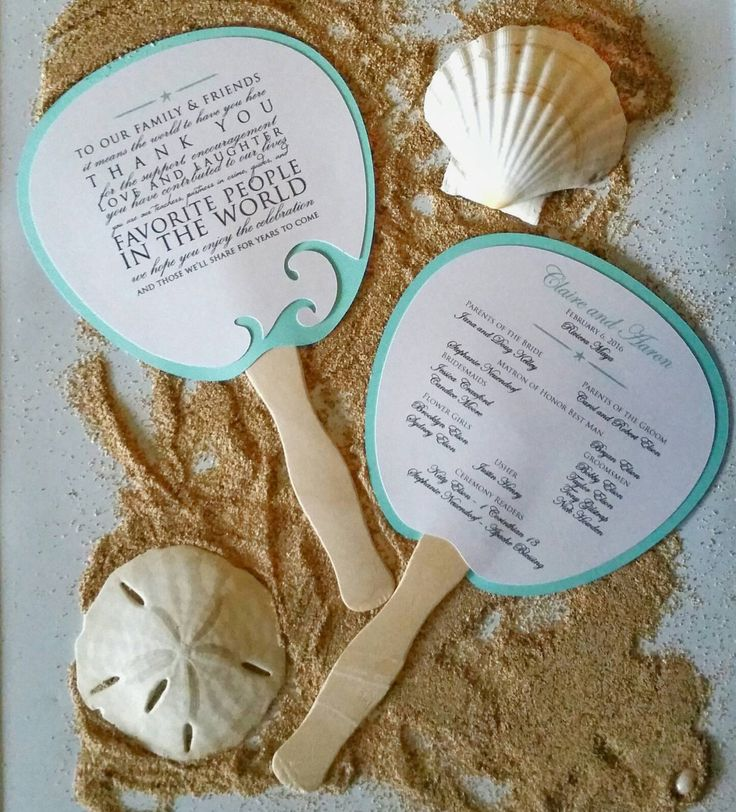 Wave Wedding Fan-Program Fans-Wedding Props, Destination Wedding, Wedding, Beach wedding, Ocean Wedding, thefindsac by TheFindSac on Etsy https://www.etsy.com/listing/265029661/wave-wedding-fan-program-fans-wedding