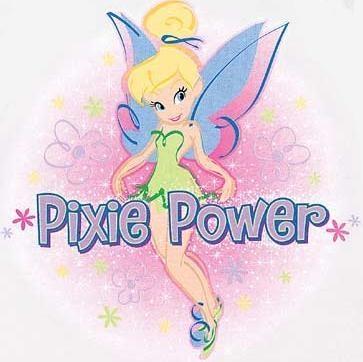 Pixie Power---You got it girl  xoxo