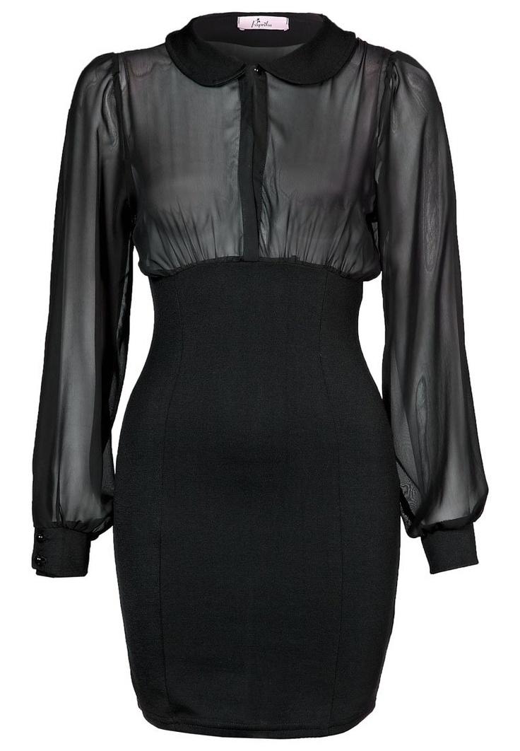 PETER PAN - black dress