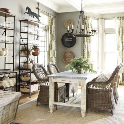 Malvern Dining Chair With Cushion   Ballard Designs