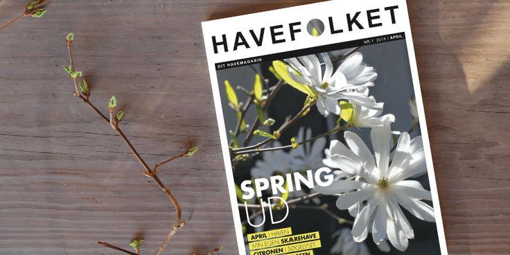 SMUGKIG LIDT I DET NÆSTE MAGASIN - HAVEFOLKET The Spring-magasine - have a sneakpeak