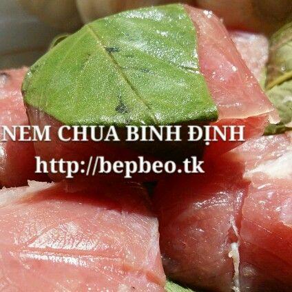 Nem chua Bình Đinh 40k/1chuc