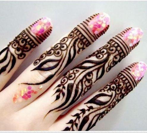 8 best henna images on pinterest henna tattoos hennas for Henna tattoo fingers