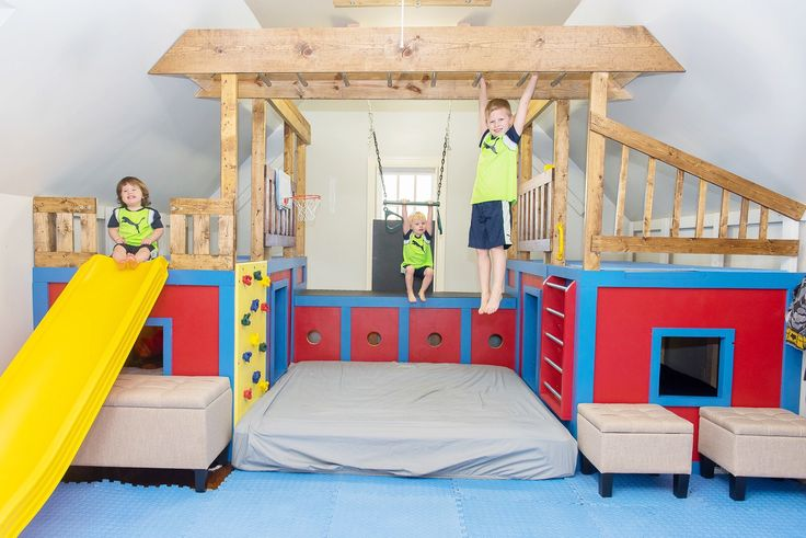 Ana White | Indoor Playground Set - DIY Projects