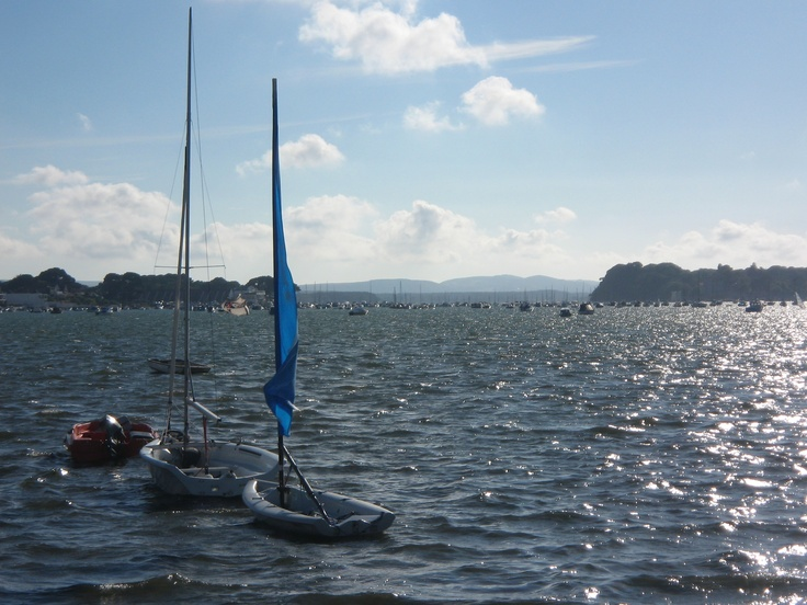 Poole Harbour, Dorset #Poole #Dorset #Sandbanks