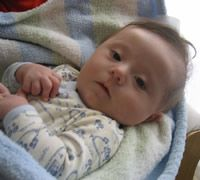 Actividades para estimular al bebé con Síndrome Down de 0 á 3 meses