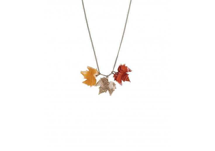 Leaf necklace from Tatty Devine