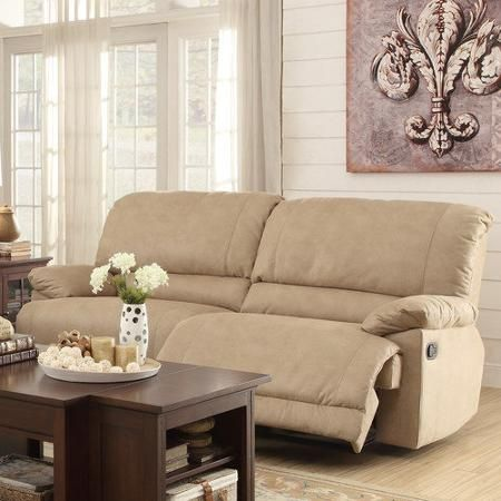 woodbridge home designs elsie double reclining sofa - Woodbridge Home Designs Furniture