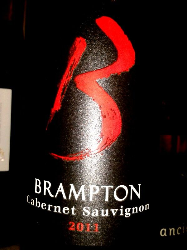 Brampton Cabernet Sauvignon 2012.  Blind tasting at Intro to wine course with Penny Lancaster. Durban, South Africa.