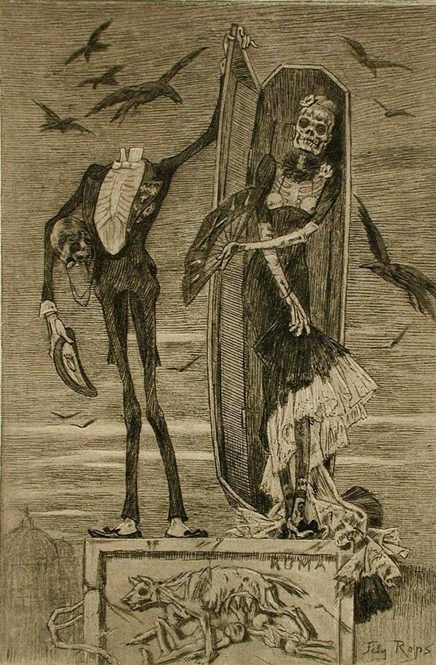 Le Vice suprême ,1884 by Felicien Rops | Félicien Rops ...