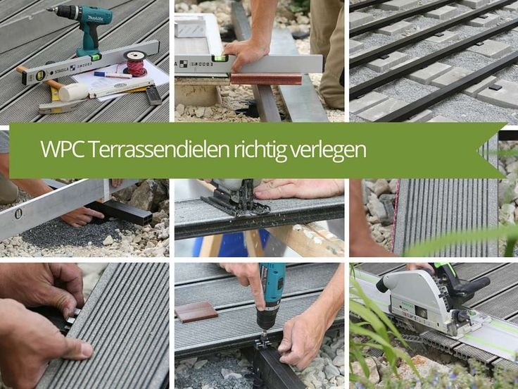 The 25+ Best Ideas About Terrassendielen Verlegen On Pinterest ... Terrassenbelage Holz Terrassendielen