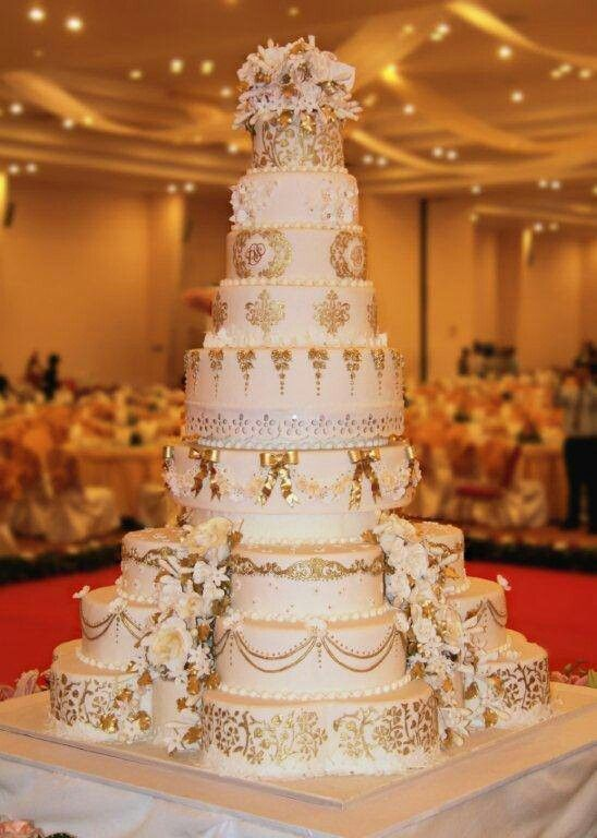 Cambodian wedding cake