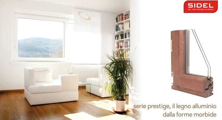 #naturalmenteprotetti con sidel e le finestre in legno alluminio