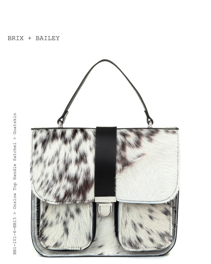 Brix + Bailey Luxury Leather Top Handle Leather Handbag - Hair on Hide -www.brixbailey.com Beautiful Leather Handbag from the upand coming Handbag brand Brix + Bailey - Onslow Top Handle Bag Chestnut/Croc - www.brixbailey.com, Brix + Bailey (@brixandbailey) | Silver Leather Structured Bag. Designed in London and New York, www.brixbailey.com Collab Naomi Isted, Licenisng www.thisisiris.uk