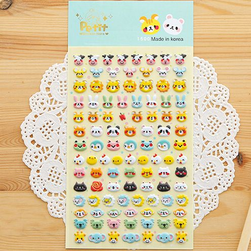 Check out the site: www.nadmart.com   http://www.nadmart.com/products/sst-1-sheet-cute-animals-b-3d-bubble-sticker-decoration-decal-diy-diary-album-scrapbooking-kawaii-korea-stationery-post-it/   Price: $US $1.35 & FREE Shipping Worldwide!   #onlineshopping #nadmartonline #shopnow #shoponline #buynow