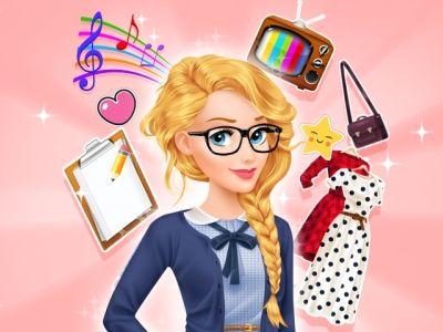 Aurora Job Hunt: A bela princesa precisa de sua ajuda para encontrar o trabalho perfeito!