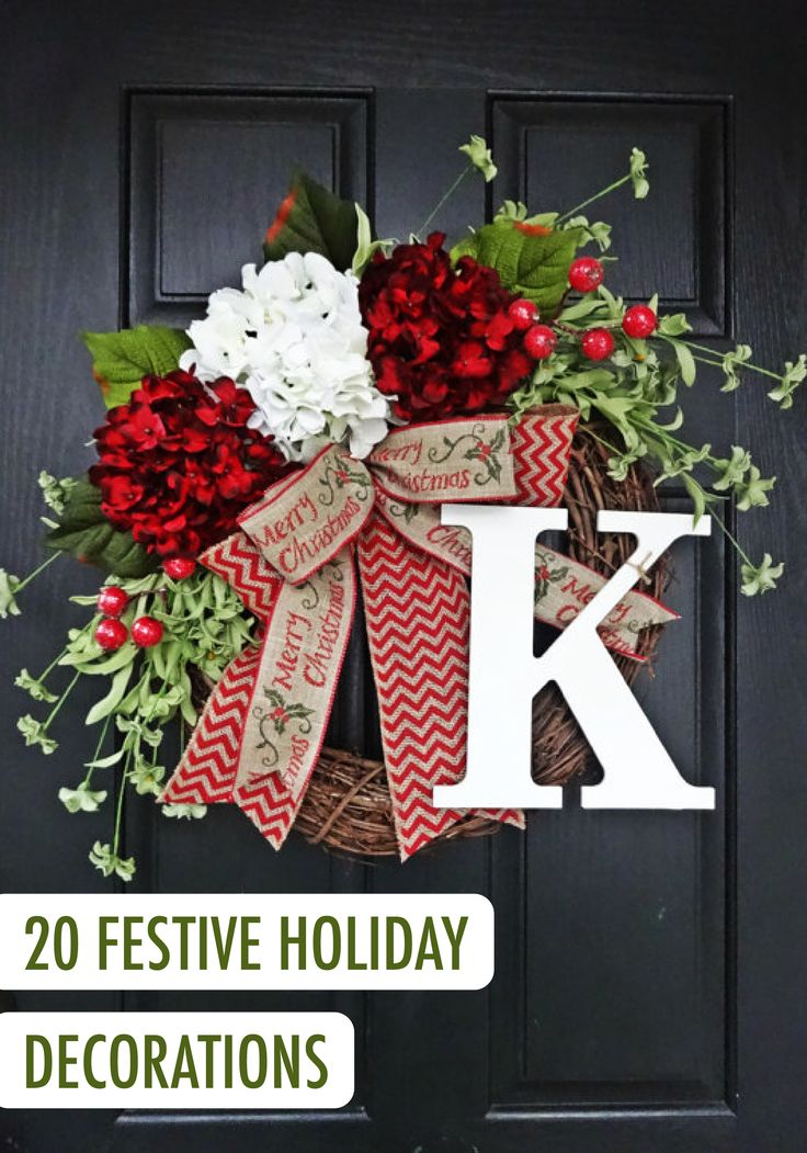 Whether you're hosting a holiday party or having your family over for Christmas dinner, or you just love to be surrounded by cheerful decor during the holiday season, these inspiring decor ideas are sure to get your space in the festive spirit—especially when paired with a fresh coat of BEHR paint in Midnight in NY on your front door!