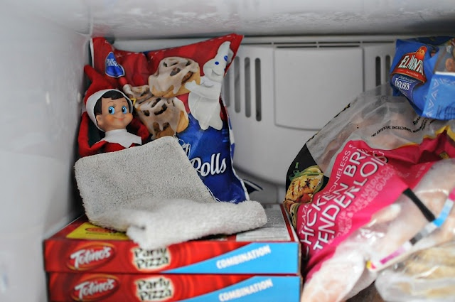 I have a huge collection of elf on the shelf ideas. My grandbabies just love the elves! We usually have a few causing mischief in our house at Christmas time.
