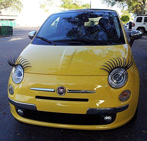 Pestañas adhesivas para coche