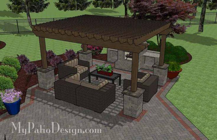 1000 images about patio design ideas on pinterest patio design pergolas and exposed aggregate - Brick bar design ...