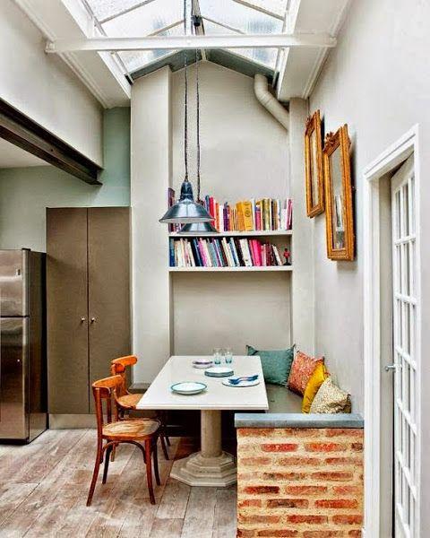 Comedores peque os casas pinterest - Comedores pequenos decoracion ...