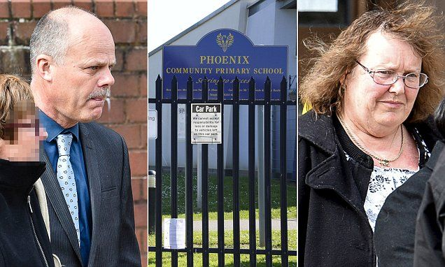 Headteacher Robert Juniper and Yvonne Pucknell who used school credit cards spared jail   Daily Mail Online