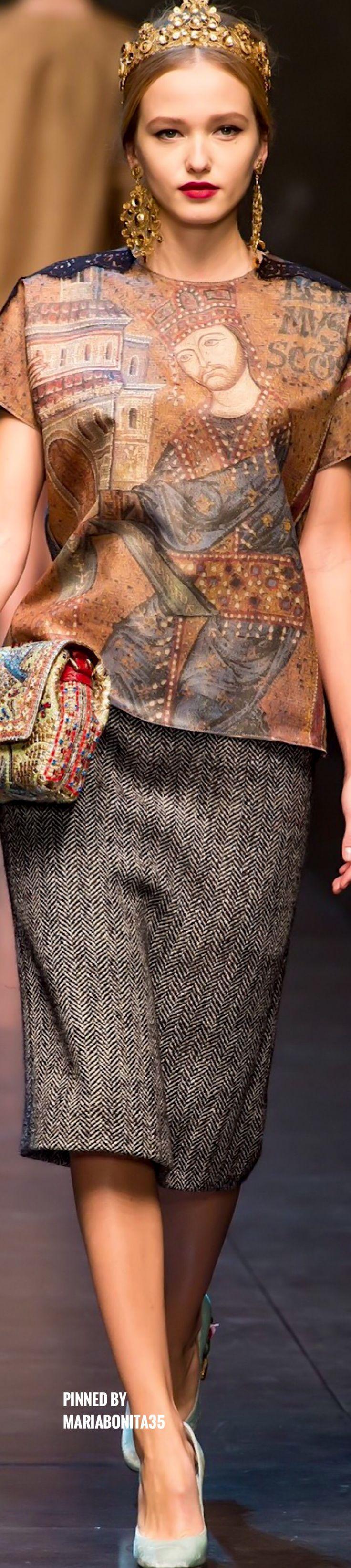 Dolce and Gabbana Fall-13