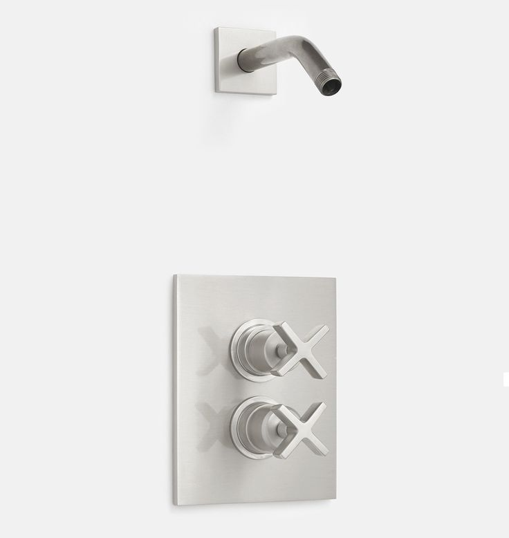Yaquina Thermostatic Shower Set Shower set, Led shop