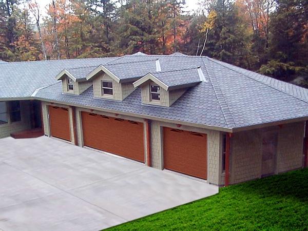 45 best prebuilt garages images on pinterest car garage for Modular carriage house