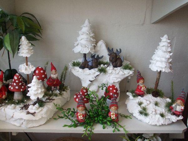 Tafel- of kerstdecoratie met 'light- klei' Lierde - Wattedoen.be