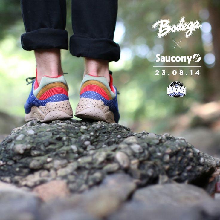 Saucony x Bodega | Release: 23.08.14 | www.sneakerbaas.nl | #Saucony #Bodega #Release #Baasbovenbaas