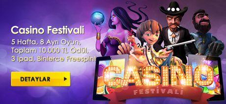CasinoMaxi'de Casino Festivali Başlıyor