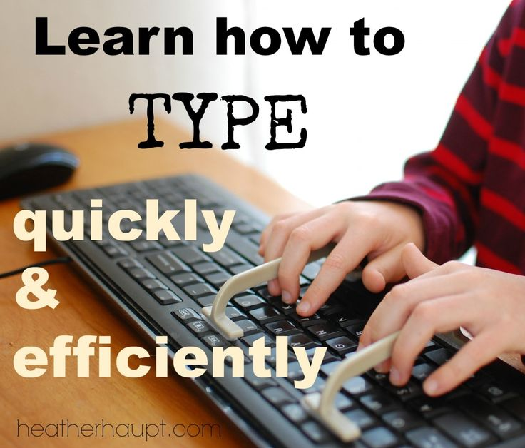 How to Teach Yourself to Touch Type: 5 Steps (with Pictures)