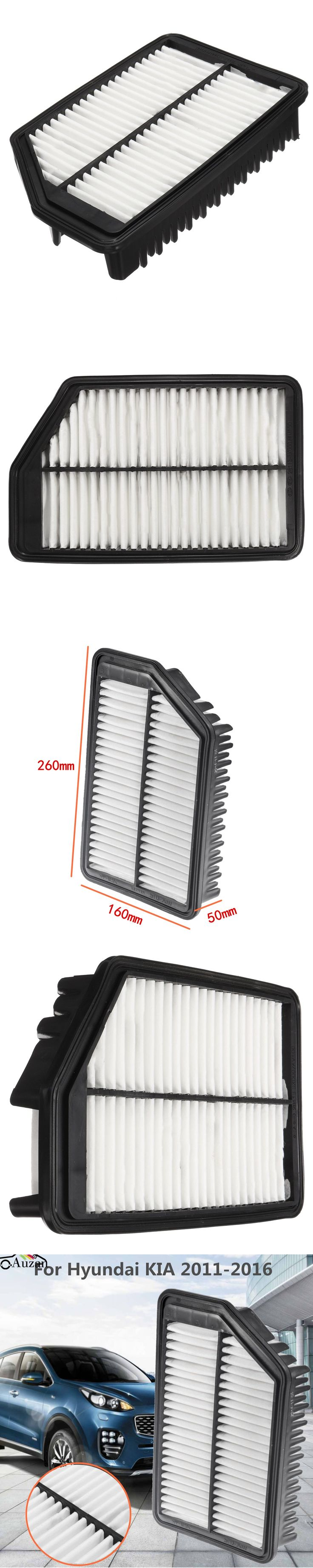 New Replacement Engine Air Cleaner Filter 28113-3X000 For Hyundai /KIA 2011-2016