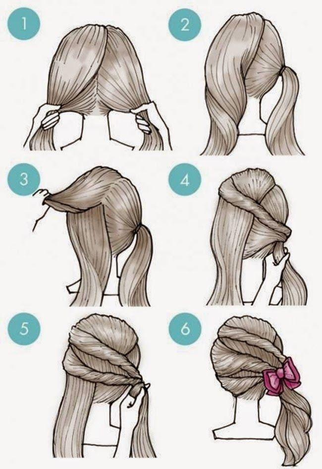 MENTŐÖTLET - kreáció, újrahasznosítás: haj | Haarfrisuren ...