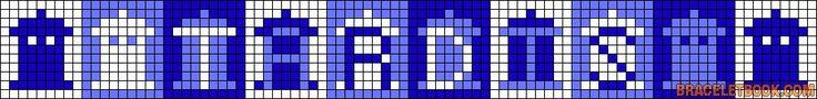 Alpha Friendship Bracelet Pattern #10979 - BraceletBook.com