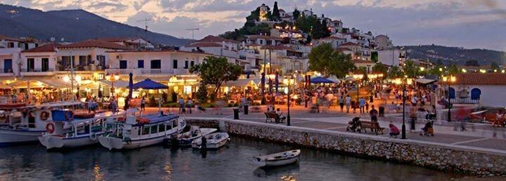 An evening in Skiathos