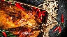 Pikantné pečené kurča