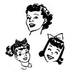 How to Create a 50s Hairdo - from Flips to Ponytails