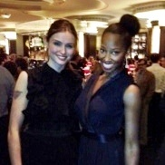 Sophie Ellis Bextor and Jamelia at the MASH launch party