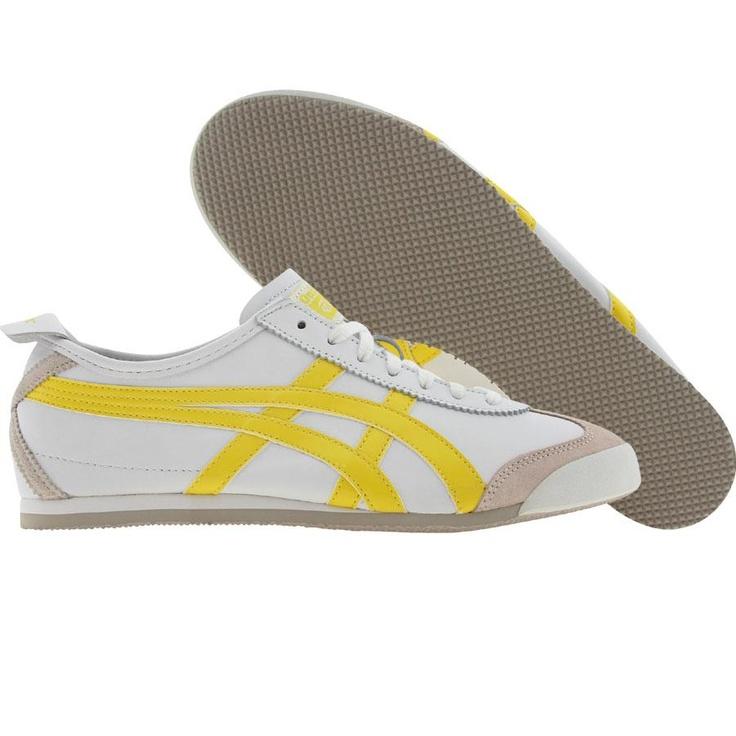 online store bbc97 296e7 ... Asics Womens Onitsuka Tiger Mexico 66 (white blazing yellow) HL474-0104  ...