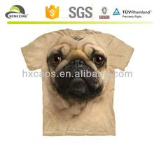 Custom 3d pug printing t shirts for man animal t shirts  best buy follow this link http://shopingayo.space