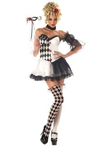 Le Belle Harlequin Costume