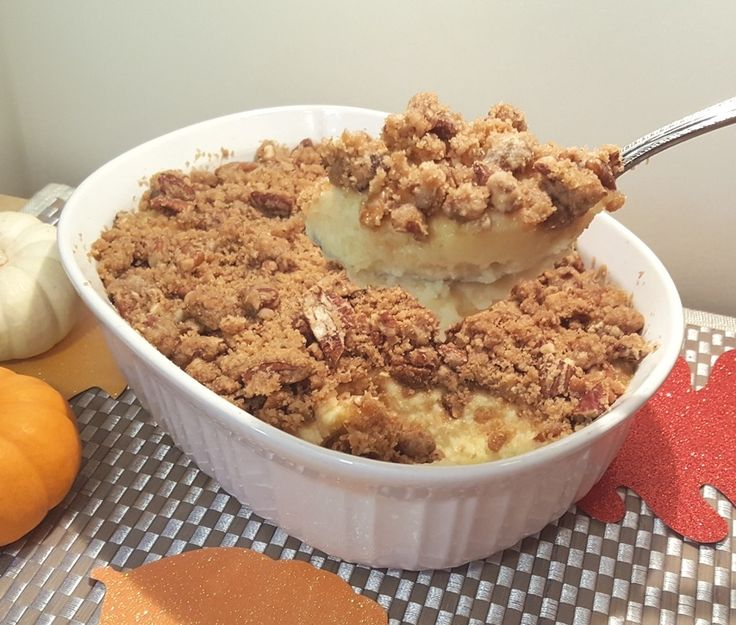 The Old Gal's Ruth's Chris Sweet Potato Casserole  Copy-Cat Recipe